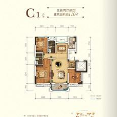 申丰·金色阳光城--C1户型
