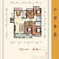 中港·水木學府B1戶型戶型圖