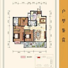 中港·水木學府B2戶型戶型圖