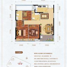 新八·世纪华城F2户型图