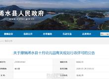 关于撤销浠水县十月幼儿园有关规划行政许可的公告