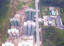 阳光尚城6月进度:20#楼建至29层