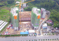菁华园6月工程进度:C1,C2已封顶!