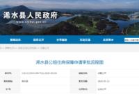 浠水县公租住房保障申请审批流程图