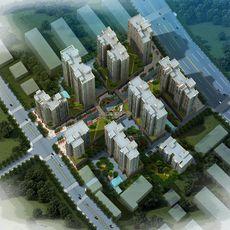 亚兴国际城鸟瞰图