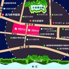 亚兴国际城区位图