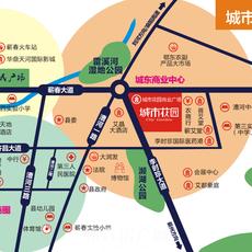 城市花园地图