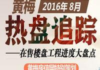 """热盘跟踪""""黄梅房信网""""8月工程进度大盘点"""