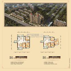 东磁·新城国际花园五期弘府 ab栋b1户型户型图