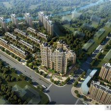 东磁·新城国际花园鸟瞰图