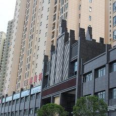 清華苑小區實景圖