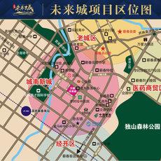 天禧未来城(公寓)项目区位图