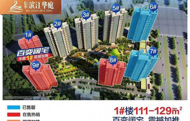 今年买房明年交房 /信华滨江华庭给你靠谱的好房!