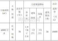 黄梅城区7月28日8宗商住用地挂牌出让公告