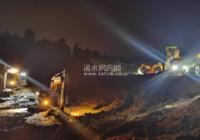 现场 | 浠水交通建设者挑灯夜战抢进度