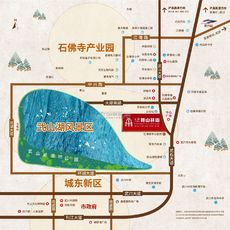 畔山林语区位图