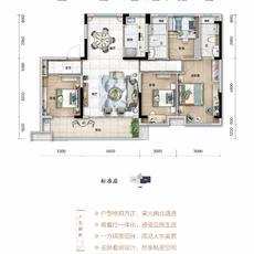 浠水碧桂园八景台--YJ140户型