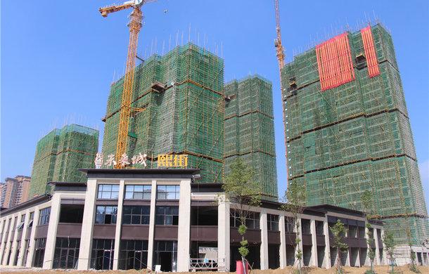 热烈祝贺||天盟·未来城西区3#楼 、4#楼 、5#喜封金顶!