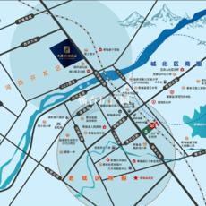 天盛•西城壹品区位图