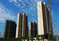 龙玺湾9月工程进度播报   7#、8#楼建至第22层