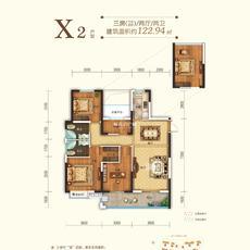 申丰·金色阳光城--10#楼 122.94