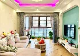 蕲河金岸精装温馨2居室90.3平中间楼层家具家电齐全,拎包即住支持按揭