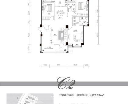欣海·世纪城3#C2户型
