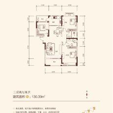 金浦佳苑2-4#(D)楼户型图