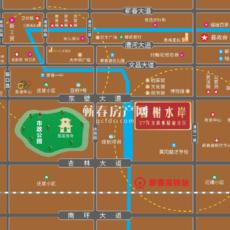 香榭水岸区位图