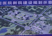新建浠水县人民医院用地524亩, 规划有车位2000个。