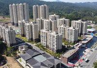 书香尚城9月工程进度:别墅项目正在施工!